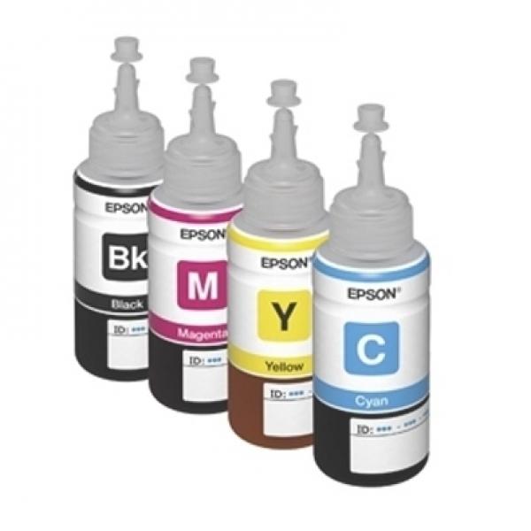 Mực in phun màu chính hãng sử dụng cho máy in epson L365