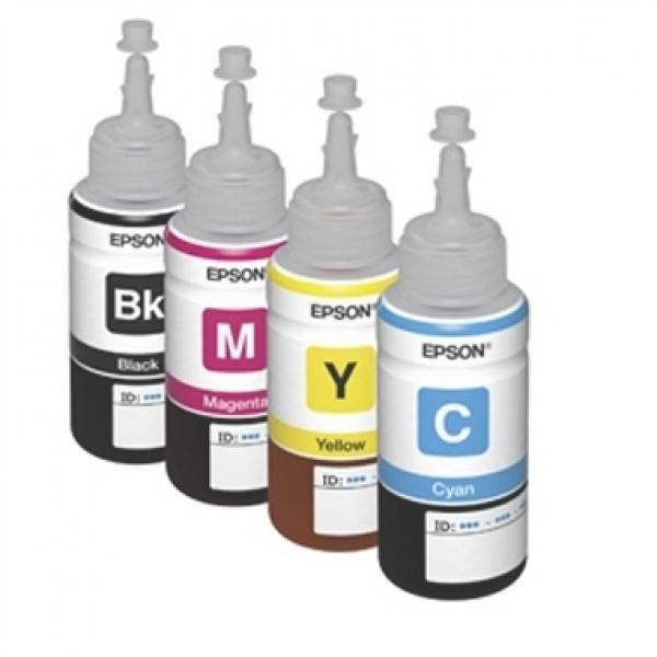 Mực in phun màu chính hãng sử dụng cho máy in Epson L220